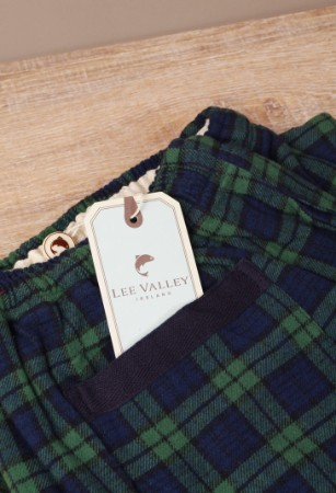 Lounge Pants Tartan Green